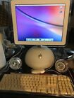 Apple Imac G4 15inch With Speakers Mouse And Keyboard