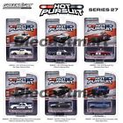 HOT PURSUIT SERIES 27 GREENLIGHT 164 DIECAST CAR SET OF 6 POLICE NEW FORD DODGE