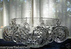 Indiana Colony Glass Clear Whitehall Punch Bowl, Cups, Hooks, Ladle 26 piece Set