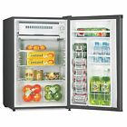 Lorell LLR72313 Compact Refrigerator, Can Dispenser, Dial Control, Manual