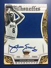 JULIUS ERVING 2013-14 Panini Preferred SILHOUETTES JERSEY AUTO #D 27 35