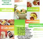 Weight Watchers DELUXE WELCOME KIT PointsPlus 4 BOOKS + More NEW Cond SHIPS FREE