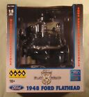 Hawk 1/6 scale Ford Flathead V8 prebuilt model new in box