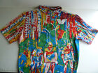 vintage Vittore Gianni cycling jersey size M awesome graphics