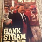 They're Playing My Game By Hank Stram Signed In Black Sharpie