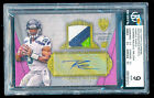 🏈 # 6 Russell Wilson BGS 9 MINT Topps Supreme Purple Patch Relics Auto RC