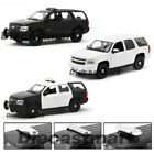 WELLY 124 2008 CHEVROLET TAHOE POLICE VERSION DIECAST MODEL CAR UNMARKED NEW