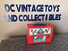 1980 SUPERMAN Vintage ALADDIN Red Lunch Box and Hot Cold 8 Ounce Thermos Cup