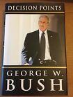 PRESIDENT GEORGE W BUSH SIGNED DECISION POINTS WHITE HOUSE LIFE REAL MEMOIR