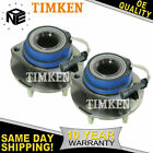 Set of 2 Timken 513121 Front Wheel Hub And Bearing Assembly for Chevrolet