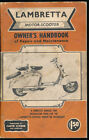 Lambretta Motor Scooter Owners Handbook of Repair Maintenance Vtg Manual Clymer