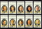 LIBERIA - 1982 - US PRESIDENTS - FDR - JFK - REAGAN + 10 X IMPERF - MNH SET!