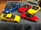 TOY CARS DIE CAST COLLECTION LOT SCALE 124  118 BMW PORSCHE ACURA HONDA S2000