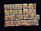 2002 Topps The Simpsons mini sticker complete set (50) impossible to build!!!
