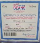 Authenticated Ty Beanie Baby Billionaire Bear 14 Low Number 47 Of 588! Mwmt Mq