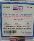 Authenticated Ty Beanie Baby Billionaire Bear 4 Lower Number 6 Of 762 Mwmt Mq