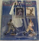 1997 STARTING LINEUP CLASSIC DOUBLES - FRANK THOMAS AND BABE RUTH FIGURES