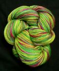 ABSTRACT FIBER Super Sock Light Fingering Hand Painted Yarn 382 yds 350m 35 oz