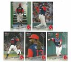 2017 Topps Now Boston Red Sox Players Weekend set & Bonus card Benintendi RC 401