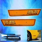 08-2014 Dodge Challenger Srt Rt Se Amber Lens Front Fender Side Marker Lights