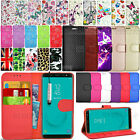 For Samsung Galaxy J6 J600F Wallet Leather Case Flip Cover + Touch Stylus