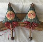 Primitive Ornies Snowmen Tree Ornies Bowl Fillers Make Do's Prim Ornies Tucks