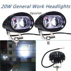 2x Worklight 20W Spotlight Fog Lamp Offroad Working Light For ATV SUV Motorcycl