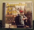 ACCORDION DE PARIS MARCEL FRANCOIS 1992 CD ALBUM BRAND NEW SEALED