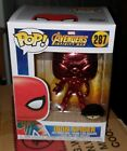 Marvel Avengers Chrome Funko Pop Vinyl Iron Spider Man Infinity War Exclusive