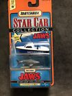 MATCHBOX STAR CAR COLLECTION JAWS AMITY POLICE BOAT 1 64 SCALE Rare