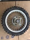 2006 Kawasaki Kx 100 Rear Wheel Kx100 Kx85 85 Rim Sprocket Brake Rotor Hub Tire