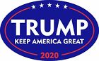 TRUMP 2020 STICKER KEEP AMERICA GREAT MAGA DEPLORABLE DECAL BUMPER