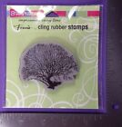 STAMPENDOUS CLING RUBBER STAMPS CORAL TREE