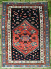 Antique West Persian Village Malayer Medallion rug c. early 1900s