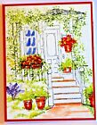 Back Porch RETIRED U get Photo  2LKexamples Art Impressions Rubber Stamps