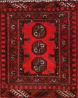 Great Deal Handmade Square 2x2 Wool Balouch Afghan Oriental Rug 2' 2