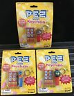 PEZ ~ FAVORITES Key Chain  (Pony, King Lion & Cyclops) ~ Set of 3 ~ MINT ON CARD