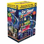 2 NEW Star Shower Motion Outdoor Laser Christmas Lights Projector Seen On TV
