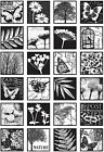 Darkroom Door Cling Stamps 7X5 Garden Inchies