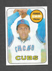 1969 Topps #640 Fergie Jenkins Chicago Cubs Texas Rangers HOF high number