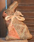 Primitive Small Easter Bunny Quilted Rabbit Handmade Cupboard Tuck