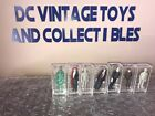1980 Remco Mini Monsters Full Set of 6 Non Glow And One Glow Version Mummy MINT