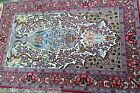 EXCEPTIONAL FINE PERSIAN ISFAHAN SIGNED TREE OF LIFE DESIGN 650 KPSI