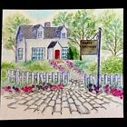 Art Impressions COBBLESTONE Retired Water color Uget photo 2 RUBBER STAMPS