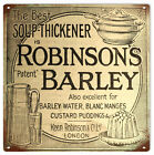 Robinson's Barley Country Kitchen Nostalgic Sign