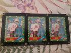 1986 Topps Jerry Rice San Francisco 49ers #161 Football Card Set of 3
