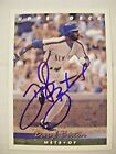 DARYL BOSTON signed METS 1993 Upper Deck baseball card AUTO Autographed #203 UD