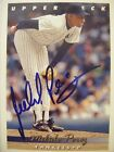MELIDO PEREZ signed YANKEES 1993 Upper Deck baseball card AUTO Autographed #326