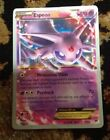 Poke Mon Ultra Rare Espeon EX-World Champ 2017-52/122-Comes with HO-OH sleeve