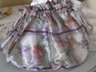 ANTIQUE SILK LARGE RIBBON WITH PINK ROSES SMALL PURSE HOLDER FOR COLLECTOR PERFE